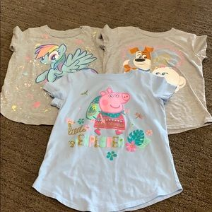 Jumping Beans shirts size 5